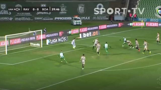 Grande golo de Diego Lopes coloca Rio Ave em vantagem frente ao Boavista