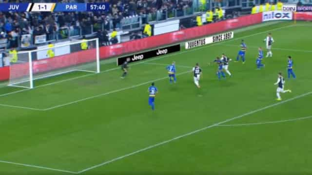 Parma empatou, mas Ronaldo voltou a colocar a Juve em vantagem