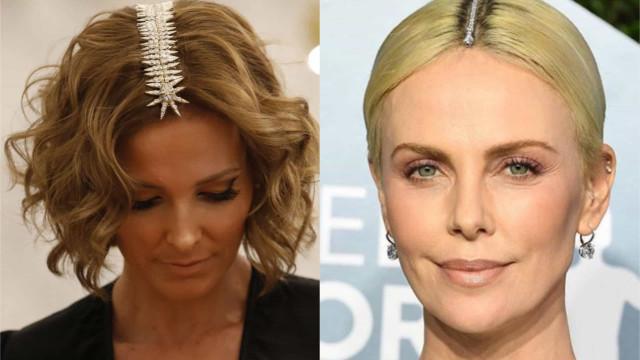 Charlize Theron inspirou-se em look de Cristina Ferreira?