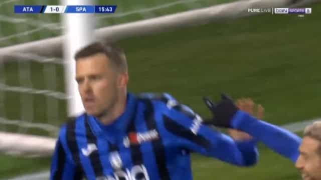 Atalanta chega aos 50 golos na Liga e o último tem nota artística máxima