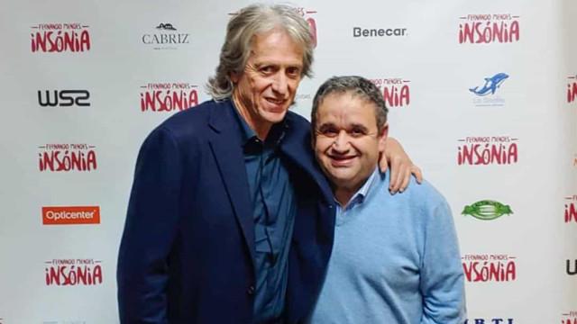 """Fernando Mendes grato pelo apoio de Jorge Jesus: """"Espero ter retribuído"""""""