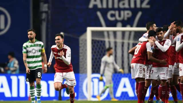 Braga põe leão no tapete aos 90 minutos e está na final da Taça da Liga