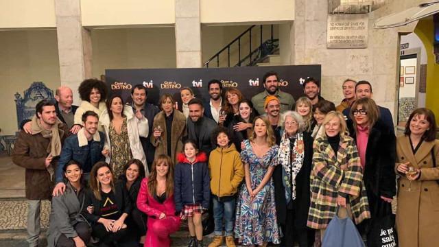 'Quer o Destino'. Famosos reúnem-se na apresentação da nova novela da TVI