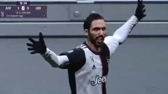Jogada genial de Dybala e Higuaín ganha versão de... videojogo