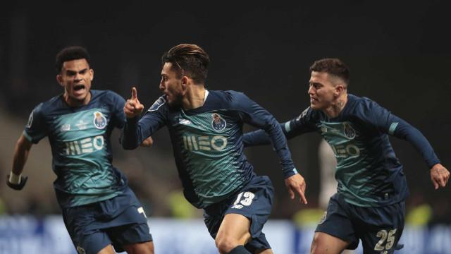 Nove minutos diabólicos colocam FC Porto na final da Taça da Liga