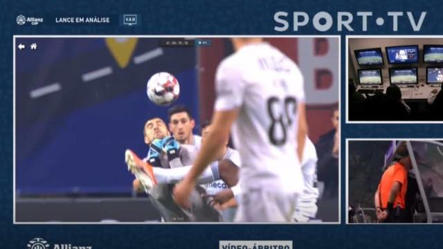 O golo anulado no último minuto que deixou o Vitória SC de cabeça perdida