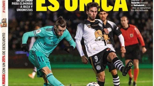 Lá fora: Ronaldo volta a marcar, Tottenham vence e Bale de regresso