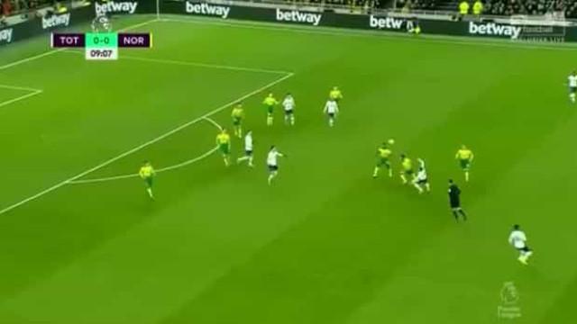 O lance de Lo Celso que deixou rendido os adeptos do Tottenham