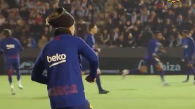 Barcelona jogou em Ibiza e Griezmann acabou... 'contagiado' pelo ambiente