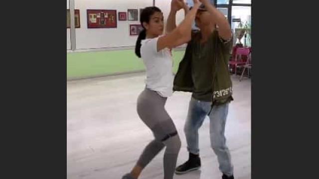 Vídeo. Cheia de ritmo latino, Georgina Rodríguez arrasa a dançar salsa