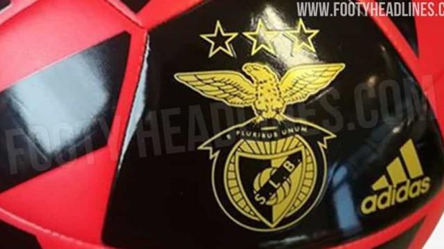 Revelado 'esboço' da próxima camisola do Benfica para 2020/21