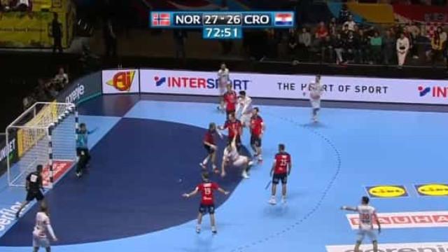 Andebol: O belo golo que ajudou a Croácia a chegar à final do Euro'2020