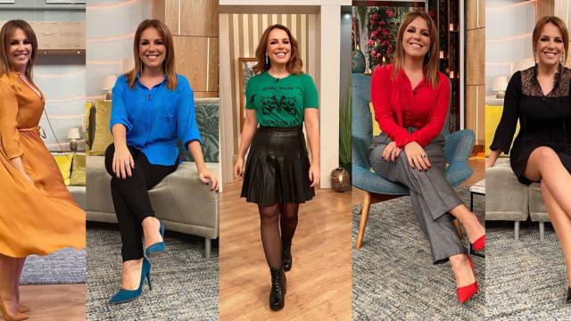 Qual o melhor look de Tânia Ribas de Oliveira nesta semana multicolor?