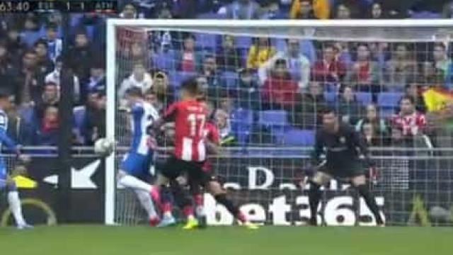 De Tomás com fogo nos pés: Terceiro jogo, terceiro golo pelo Espanyol
