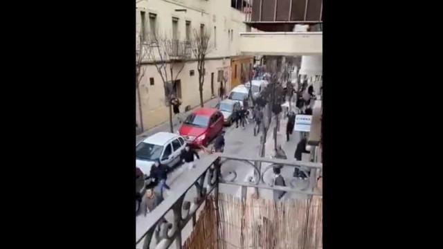 Violência em Espanha sem fim: Confrontos depois do Espanyol-Athletic