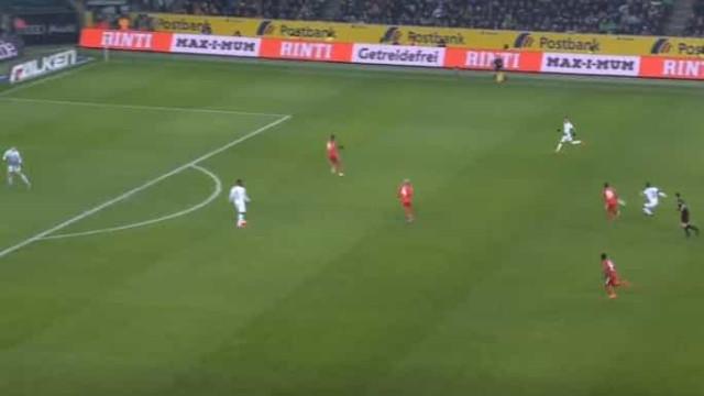 Monchengladbach fecha vitória frente ao Mainz com golo do meio da rua