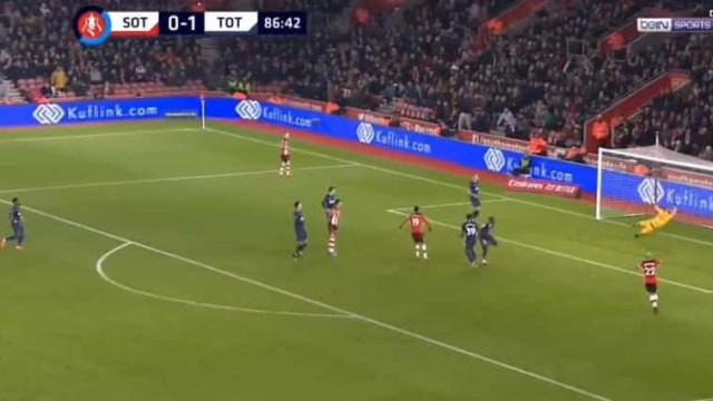 O golo que obriga o Tottenham de Mourinho a novo jogo com o Southampton