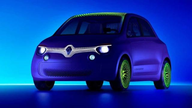 Renault veste Twingo de 'capa verde' e apresenta versão elétrica
