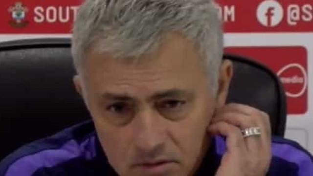 Mourinho aponta o dedo ao Inter por causa de Eriksen