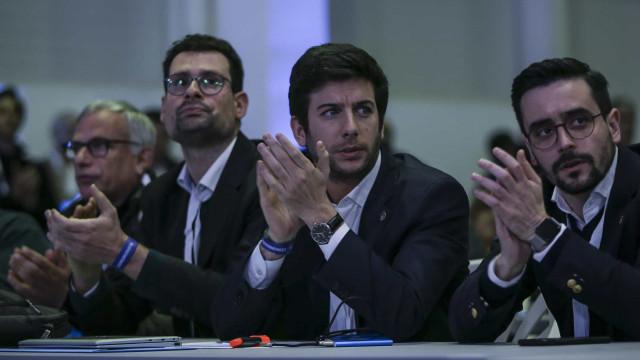 Resultado de imagem para Primeiro dia do Congresso do CDS termina após 14 horas com moção de Rodrigues dos Santos vencedora