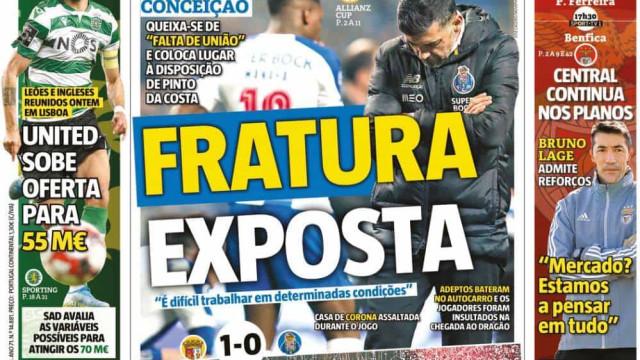 Por cá: Guerreiros de aço abrem fratura exposta no FC Porto