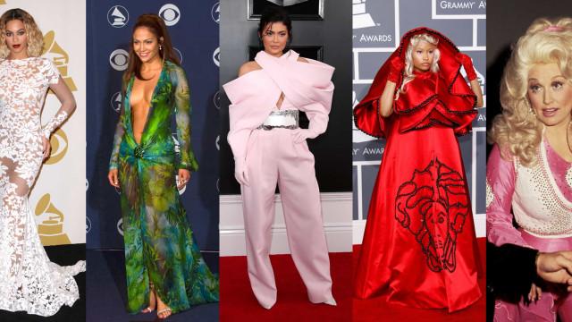 Grammy Awards: Recorde alguns dos looks mais icónicos