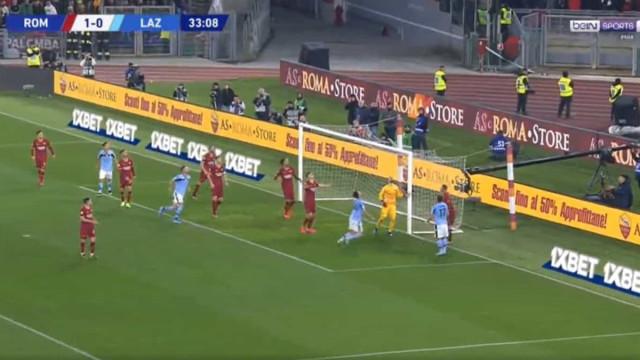 Pau López ficou 'a dormir' e Lazio aproveitou para empatar dérbi de Roma