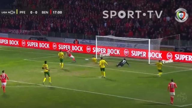 Benfica questiona linhas do fora de jogo após golo anulado a Pizzi