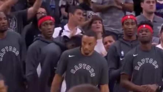 A arrepiante forma como Raptors e Spurs homenagearam Kobe Bryant