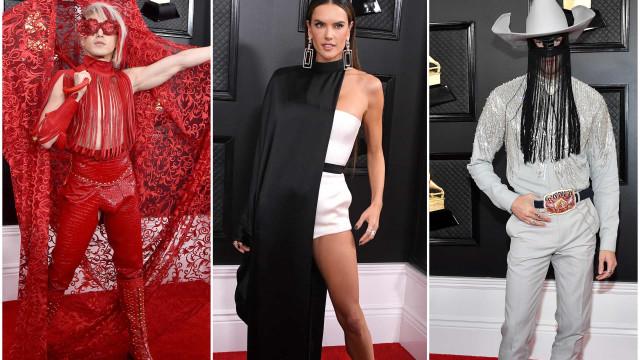Terão sido estes os piores looks dos Grammy 2020?