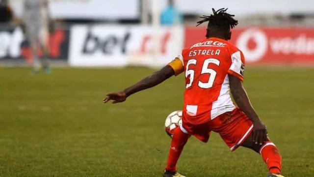 Estrela sofreu contusão óssea grave no jogo com o Boavista
