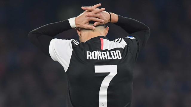 """O relato em italiano do último golo de CR7: """"O que nunca falha"""""""