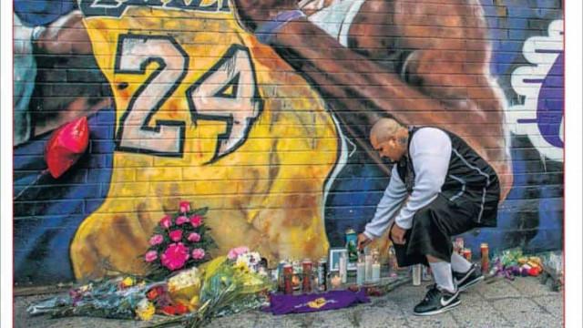 """Lá fora: Mundo ainda """"chora"""" a morte de Kobe Bryant"""