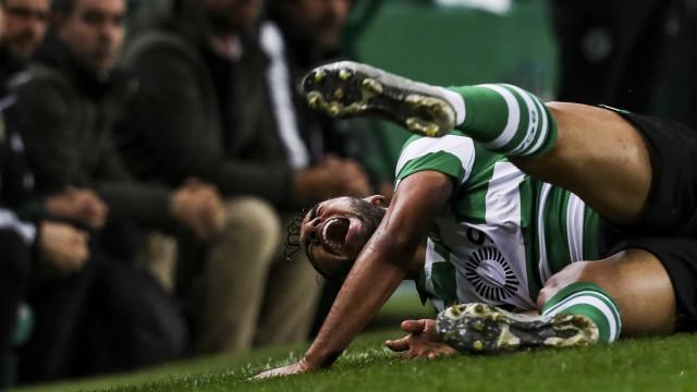 Luiz Phellype pode ter época em risco. Avançado tem rotura do ligamento