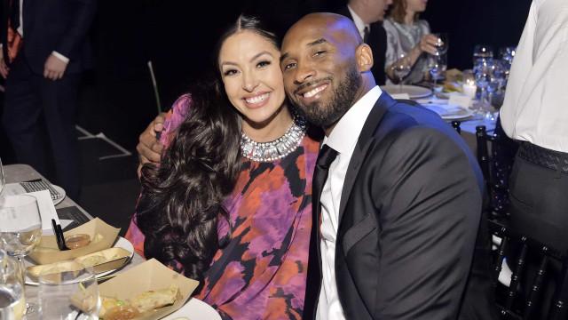 'RIP Kobe'. Vanessa Bryant soube da morte do marido através da Internet