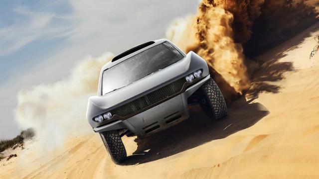 Há um novo carro a ser construído para o Dakar e pode dar que falar