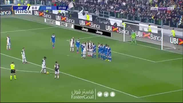 Não há Ronaldo? Dybala resolve... com livre impressionante