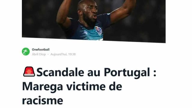 """""""Vergonha em Portugal"""": Caso de racismo contra Marega é notícia lá fora"""