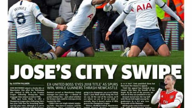 Lá fora: O golo que salvou Mourinho e a curta vantagem do Real