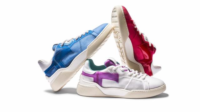 Tod's aposta em estilo urbano com as novas sapatilhas T-One