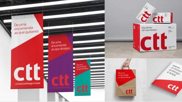 Marca CTT 'ganha' novo posicionamento. Loogótipo comercial alterado