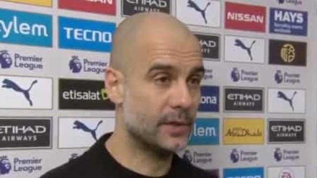 Guardiola coloca um ponto final na especulação em torno do seu futuro