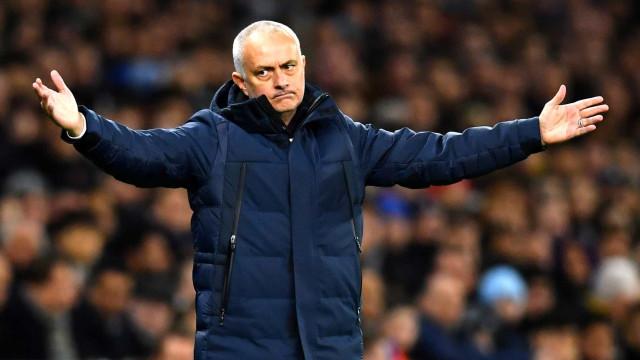 Desagrado de Mourinho, desilusão de Guedes e as imagens que não viu na TV