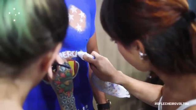 Marcelo Moreno apresenta-se no Cruzeiro com camisola... 'tatuada'