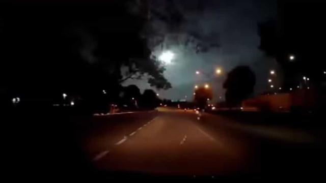 Vídeo de misteriosa 'bola de fogo' em Singapura torna-se viral