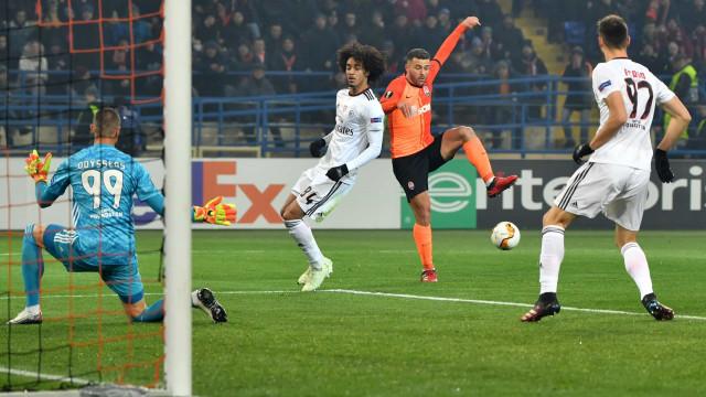 [0-0] Shakhtar-Benfica: Já se joga a segunda parte