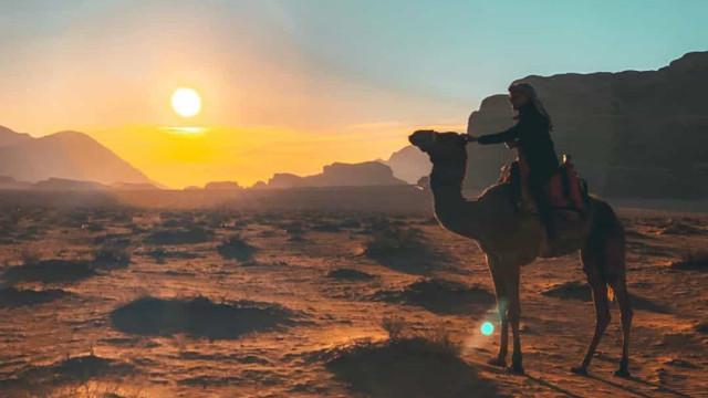 As imagens da viagem de Ângelo Rodrigues à Jordânia