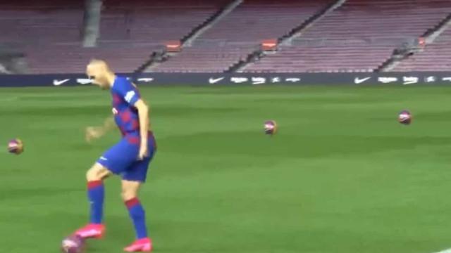 Novo reforço do Barça ainda agora chegou e já borrou a pintura