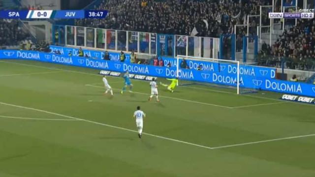 Cristiano Ronaldo insaciável. Desta vez a vítima foi a Spal