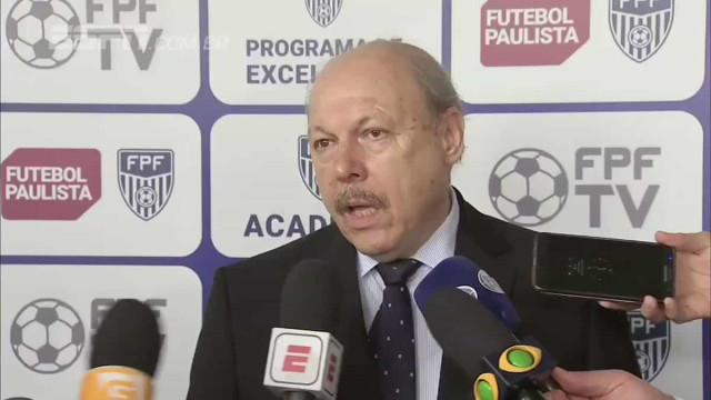"Presidente do Santos ataca Flamengo e alerta para ""reino de vaidades"""